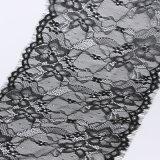 Schwarzes Tulle-Spitze-Gewebe-Kleid-Gewebe-Gewebe