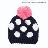 ジャカード帽子の頭骨の帽子によって編まれる帽子の帽子の帽子