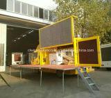 Veicolo di pubblicità mobile di Jmc 5 tonnellate del LED di camion esterno della visualizzazione