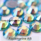 Rhinestone Fix Ab аквамарина 2018 самый новый самый лучший продавая Ss16 камень Preciosa экземпляра горячего стеклянный кристаллический (ранг ab /5A аквамарина HF-ss16)