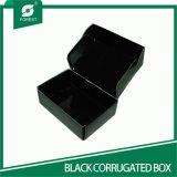 Черная лоснистая Corrugated коробка упаковки камеры (FP6073)