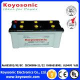 N150 acidi al piombo asciugano la batteria automobilistica caricata 12V 150ah accumulatore per di automobile