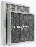 Фильтр для консистентной смазки дефлектора алюминия/нержавеющей стали