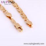 75046 pulsera Gold-Plated de la longitud de la joyería 19-21cm de la manera 18K para las mujeres