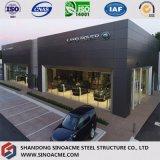 Construction préfabriquée de Commerical de structure métallique pour le système 4s