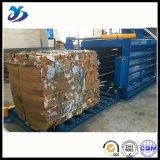 Sauvegarder la presse horizontale hydraulique de coût pour la tige de canne à sucre d'emballage