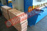 Prix de tonte hydraulique de machine de découpage de tôle de la commande numérique par ordinateur QC12y-6*3200