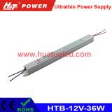 alimentazione elettrica ultra sottile di 12V3a LED/casella chiara/striscia flessibile