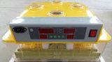 Incubateur commercial complètement automatique transparent d'oeufs de poulet pour 96 oeufs