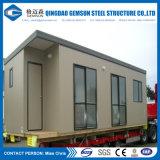 Prix de logements préfabriqués de luxe d'approvisionnement de la Chine avec la structure métallique légère à vendre