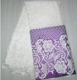 Alta qualità di disegno del tessuto del merletto nuova