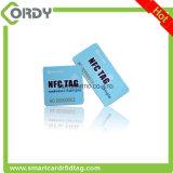 Etiqueta dominante variable de impresión del PVC del código de la viruta QR de NFC