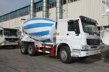 Tipo de conducción de la marca de fábrica 6X4 de Sinotruk HOWO carro del mezclador concreto