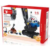 Pädagogische Technologie-Maschinen-großer Kran des Spielzeug-5in1 blockt Spielzeug