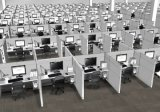 Qualité et poste de travail moderne de bureau pour des meubles de bureau