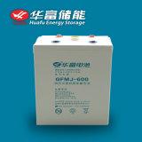 bateria profunda solar do gel do ciclo do armazenamento VRLA de 2V 600ah