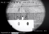 Macchina fotografica infrarossa termica della lunga autonomia con il sistema di obbligazione dell'allarme e l'inseguimento automatico