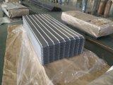 Le matériau de construction/toit galvanisé couvre la feuille ondulée de toit de Gi