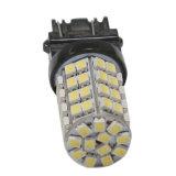 T20 3157 60SMD 백색 황색 LED 우회 신호 이중 색깔 자동차 빛