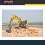 Shandong Carter CT150 15 tonnes d'excavatrices hydrauliques de chenille à vendre