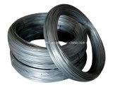 Twisted черный обожженный провод черного листового железа провода поставлен в вьюрке, катушке или отрезоке в