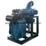 Verwendetes Ölraffinieren-Drehkolbenpumpe-und Zusatzvakuumsystem