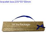 Jy-Jb97金のボール紙のペーパーギフトの宝石類のイヤリングボックス卸売