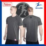 De duidelijke Katoenen T-shirt van de Stof