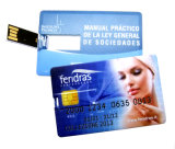 Promotional GiftのためのFashional Credit Card USB Flash Drive