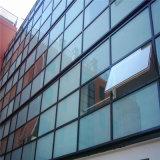 Baixo vidro de indicador isolado revestido E da parede do vidro de Windows/de cortina vitrificação dobro