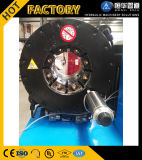 10組のダイスが付いているフィン力P52のセリウムの証明書の油圧ホースのひだが付く機械自由に