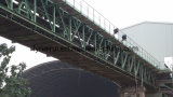 Hohe Leistungsfähigkeits-Rohr-Bandförderer-Systems-Röhrenbandförderer