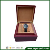 Cadre de montre en bois solide personnalisé par vente en gros de poignet