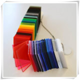 Strato di plastica acrilico colorato con l'imballaggio del pallet