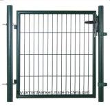 Giardino decorativo dell'oscillazione del cancello che recinta cancello