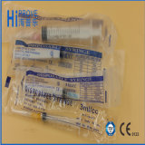 Needle를 가진 피하 Disposable Three Parts Luer Slip Syringe