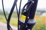 2016 bici eléctrica del neumático gordo de 48V 500W plegable para la venta
