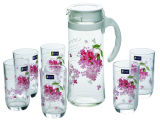 高品質のガラス水差しの一定の台所用品のKbJh06135