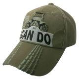 Gorra de béisbol lavada el mejor diseño con la insignia delantera Gjwd1745