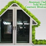 Janela de alumínio revestida de madeira de preço razoável para Vilia, centenas de design para janela de casinha de casinha