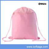 Backpack мешка Drawstring Nylon складывая
