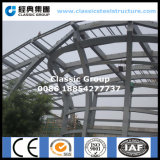 Здание структуры стальной рамки конструкции для крыши