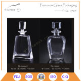 Бутылка бесцветного стекла кристаллический, бутылка водочки, бутылка вискиа