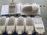 Las piezas de la luz de la cubierta de la luz de calle del LED a presión el polvo de la fundición cubierto