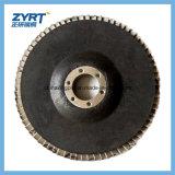 Roda fundida Brown 100mm 80# da aleta do disco da aleta da alumina T27&T29