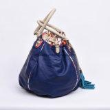 [أليببا] الصين إمداد تموين زرقاء [بو] جلد دلو حقيبة [تسّل] حقيبة [دروستينغ] حقيبة