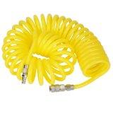 шланг для подачи воздуха 12 PU возвратной пружины 9m 8 mm желтого цвета