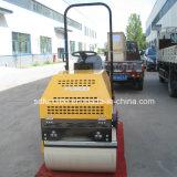 compresor hidráulico lleno del suelo del rodillo del vibrador 1t con velocidad infinitamente variable