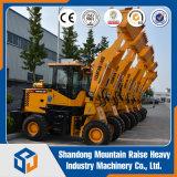 China-Bergbau-Schaufel-Minirad-Ladevorrichtung mit der Kapazität 1500kg