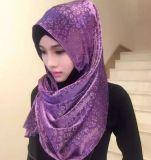 Parte capa musulmana della sciarpa di un vestito islamico